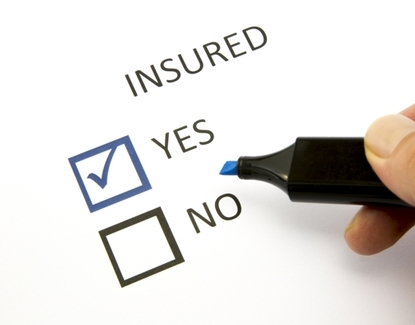 insured yes or no graphic